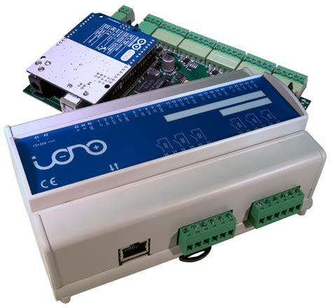 iono arduino industrial arduino plc relays i o rs485 modbus din rail ce fcc