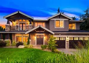 Exquisite, Craftsman, House, Plan, -, 23659jd