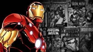 Rendered Bits: Iron Man Comic Wallpaper