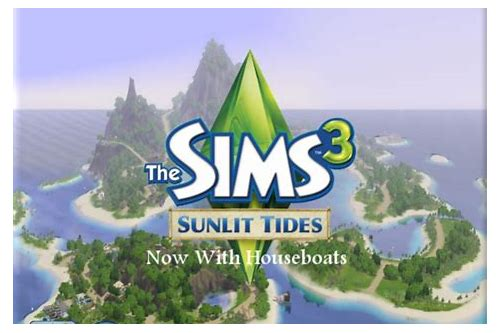 sunlit tides the sims 3 download