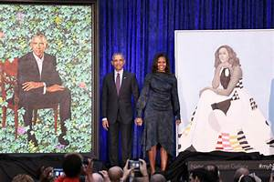 Barack and Michelle Obama's official portraits are not ...