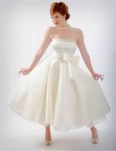 Robe Mi Longue Mariage : robe de mariee mi longue ~ Melissatoandfro.com Idées de Décoration
