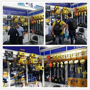 Structure Power Cables Manual Geared Beam Chain Hoist