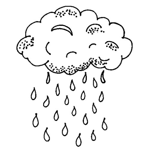 rain coloring pages  coloring pages