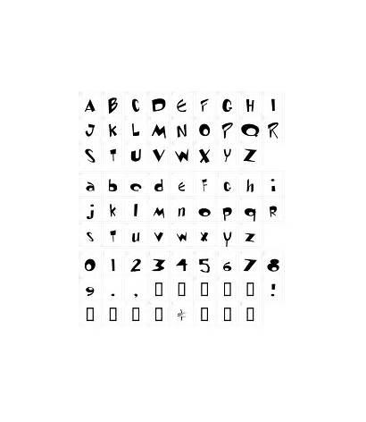 Font Ren Stimpy Fonts