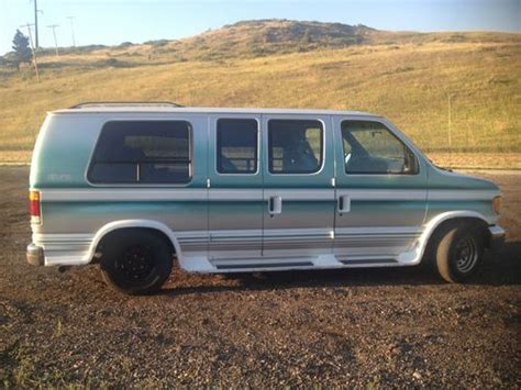 transmission control 1994 ford econoline e250 on board diagnostic system sell used 1994 ford e150 eclipse conversion van in arvada colorado united states for us 2 200 00