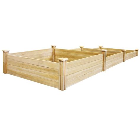 Greenes Raised Beds by Greenes Fence Stair Step Dovetail Raised Garden Bed