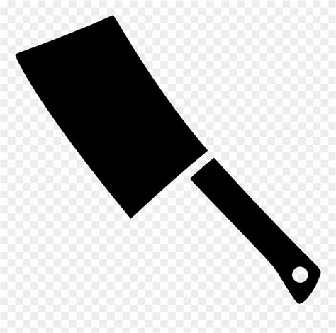 library  jpg black  white cleaver png files clipart
