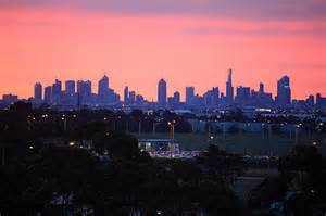 melbourne skyline photo