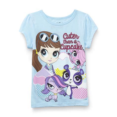 littlest pet shop girls graphic  shirt