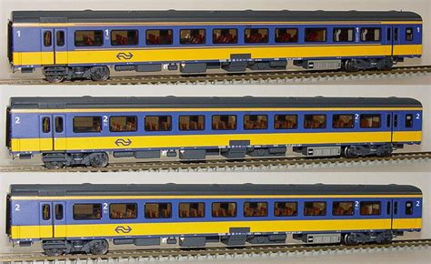 Photo and video for sale. LS Models Set of 3 Passenger cars type ICRm InterCity stam 5608 (set #1) - EuroTrainHobby