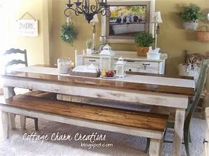 Cottage Charm Creations: Provincial Farmhouse Table