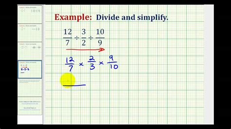 division involving  fractions youtube