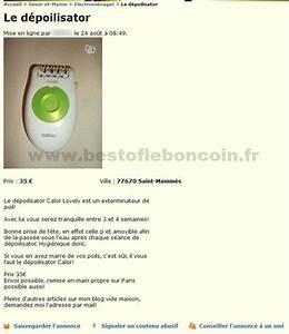 Le Bon Coin Seine Et Marne : le d poilisator electrom nager le de france best of le bon coin ~ Gottalentnigeria.com Avis de Voitures