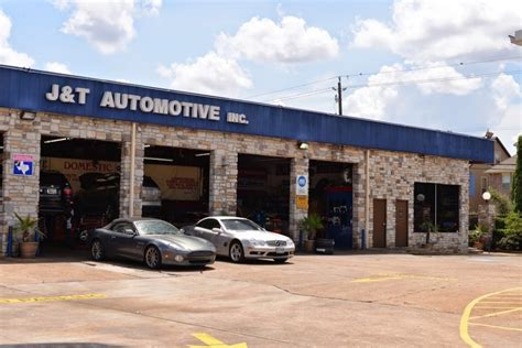 Mercedes-benz Repair By J&t Automotive In Houston, Tx