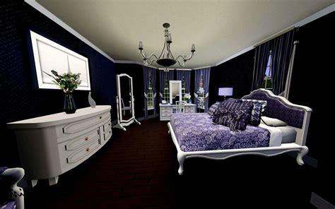 purple inspired bedrooms purple and black bedroom home design 13000