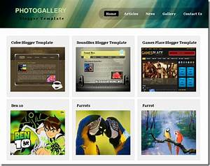 photo gallery template blogger templates 2013 With art gallery html template