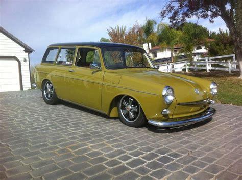 volkswagen vintage square body vw olive green slammed square back das vw squareback
