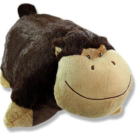 small pillow pets authentic pillow pets monkey silly small 11 quot plush