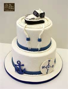marine wedding cake toppers nautical yacht wedding cake wedding the hudson cakery
