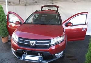 Modele Voiture Plaque : nouvelle voiture banalis e en seine et marne une dacia sandero rouge fonc le blog eplaque ~ Medecine-chirurgie-esthetiques.com Avis de Voitures