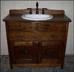 Antique Bathroom Vanity With Sink by Antique Bathroom Vanities Vessel Sink Vanity