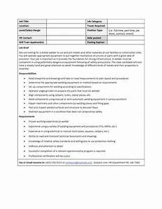 49 Free Job Description Templates Examples Free