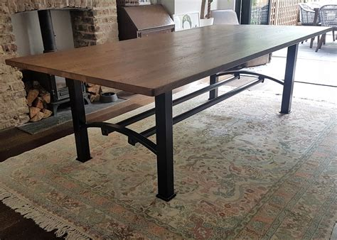 Just Dining Tables by Industrial Based Dining Tables From Recycled Steel And