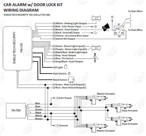 remote car alarm keyless entry security 2 4 door power