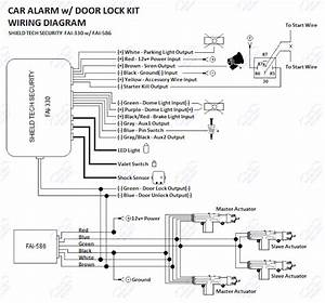 Central Locking Motor Wiring Diagram