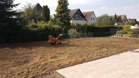 übergang Terrasse Rasen by Rasen S 228 En Anleitung Zum Rasen Anlegen Hausbauen24