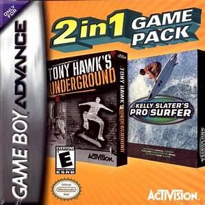2 In 1 Game Pack Tony Hawku002639s Underground Kelly Slateru002639s