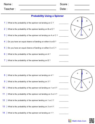 probability word problems worksheet with answers worksheet with answers on probability rcnschool