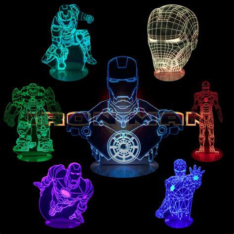 iron man table l iron man 3d illusion desk l free shipping worldwide
