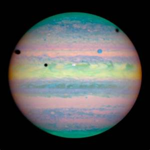 NASA - Hubble Spies Jupiter Eclipses