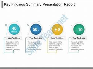 Key Findings Summary Presentation Report Ppt Sample ...