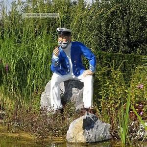 Maritime Deko Garten : kapit n seemann lebensgro deko maritim garten figur ~ Lizthompson.info Haus und Dekorationen