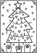 Christmas Coloring Tree Pages Club Pond Print Colouring Easy Tulamama Printables Fromthepond Holiday Preschool Visit Books Fun sketch template