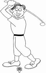 Coloring Golf Pages Printable Sports Sport Boy Themed Doing General Disney Realistic Golfer Printed Printables Widgets Mega sketch template