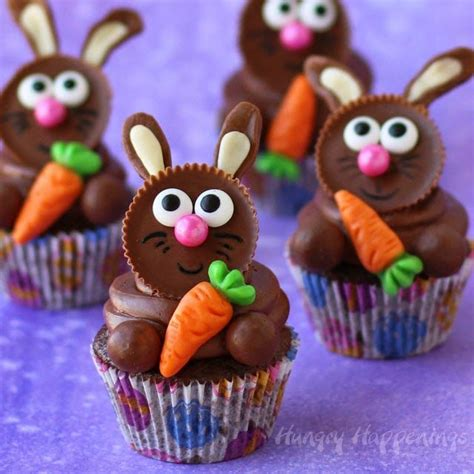 Ideas For Easter Cupcakes by Best 25 Bunny Cupcakes Ideas On Marshmallow