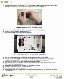 Telkonet Pst6550 Ecoair User Manual