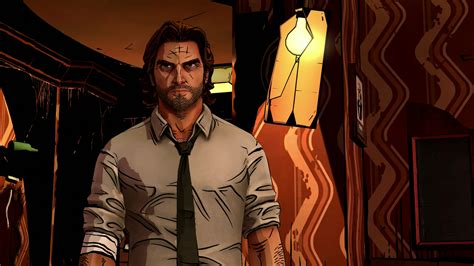 Bigby The Wolf Among Us Wallpaper by The Wolf Among Us Episode 3 A Crooked Mile Review