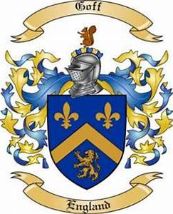 Goff Family Crest From England By The Tree Maker