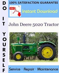 John Deere 5020 Tractor Technical Manual  U2606