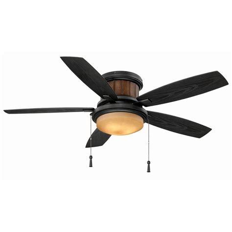 quick install ceiling fan hton bay roanoke 48 in indoor outdoor iron ceiling fan