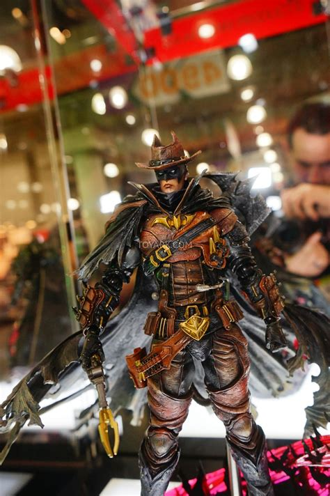 square enix play arts variant dc comics  toy fair