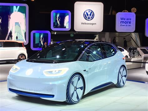Highly Automated Electric Car Volkswagen Id Unveiled At