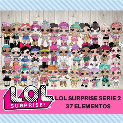 kit digital lol surprise serie   elo scrap digital