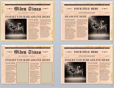 plantillas de periodicos editables en powerpoint gratis