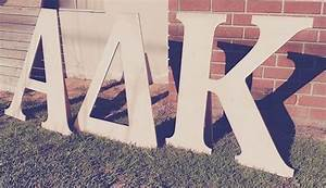 design wood to use for 3ft sorority letters With large sorority letters